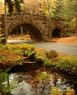 Photograph - Stone Bridge by Alana Ranney