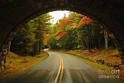 Photograph - Stone Bridge Arch by Alana Ranney