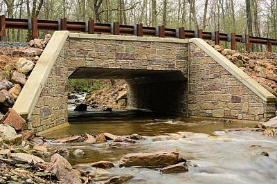 Photograph - Stone Bridge At Coral Run #1 - Bald Eagle State Forest by Joel E Blyler