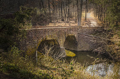 Photograph - Stone Bridge by Bradley Clay