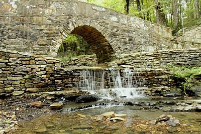 Photograph - Stone Bridge by Edward Hamilton