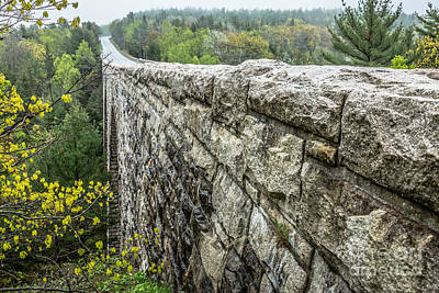 Photograph - Stone Bridge In Acadia by Susan Cole Kelly