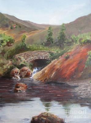 Ancient Stone Bridge In The Gap Of Dunloe, Ireland Original by Maria Hunt