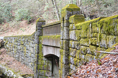 Photograph - Stone Bridge Over Looking Glass Creek by rd Erickson