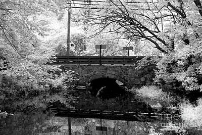 Photograph - Stone Bridge Over The Pond by John Rizzuto