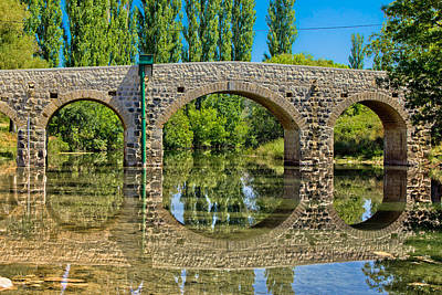 Photograph - Stone Bridge Over Zrmanja River by Brch Photography