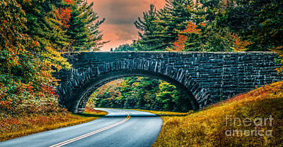 Photograph - Stone Bridge by Scott Hervieux