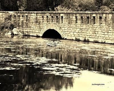 Photograph - Stone Bridge by Susie Loechler