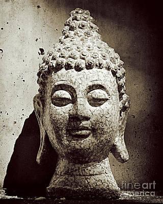 Stone Buddha Art Print