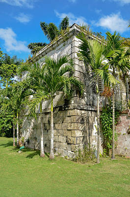 Photograph - Stone Building Good Hope Estate Jamaica by RobLew Photography