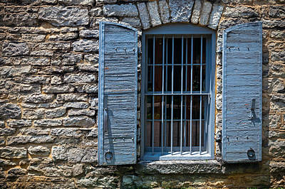 Photograph - Stone Building Window by Alexey Stiop