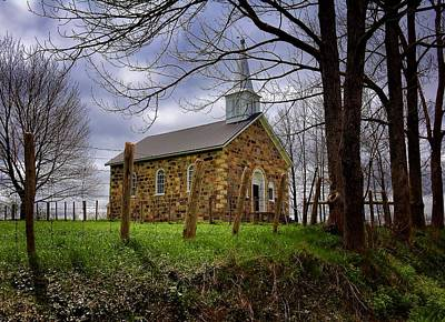 Photograph - Stone Church  by Henry Kowalski