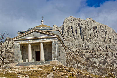 Photograph - Stone Church On Velebit Mountain by Brch Photography