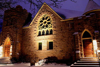 Photograph - Stone Church by Trent Mallett