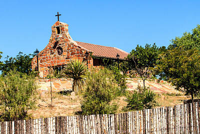Photograph - Stone Church With Latillas by Ben Graham