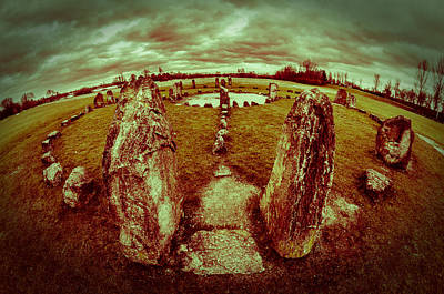 Art Print featuring the photograph Stone Circle by David Isaacson