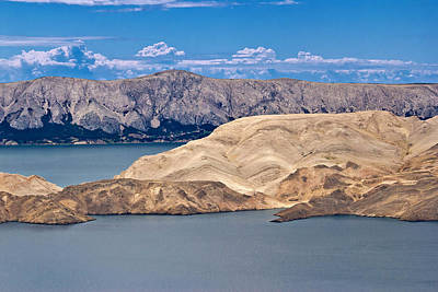 Photograph - Stone Desert Island Of Pag by Brch Photography