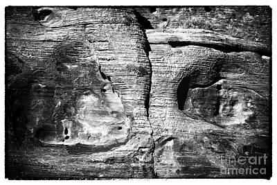 Photograph - Stone Eyes by John Rizzuto