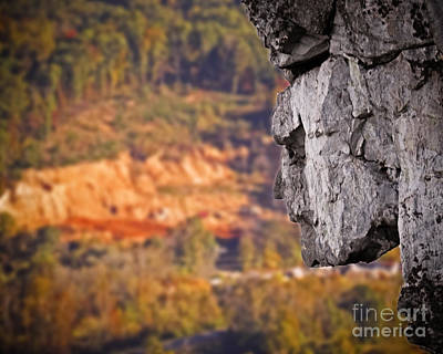 Photograph - Stone Face by Dawn Gari