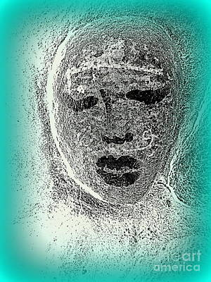 Photograph - Stone Faced Lady by Ed Weidman