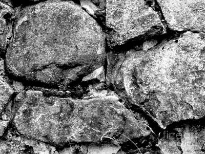 Photograph - Stone Faces by Pauli Hyvonen