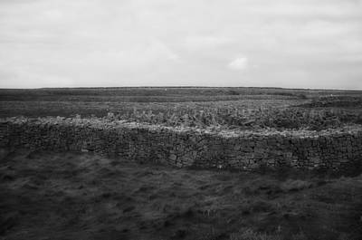 Ireland Photograph - Stone Fence Inishmore by Hugh Smith