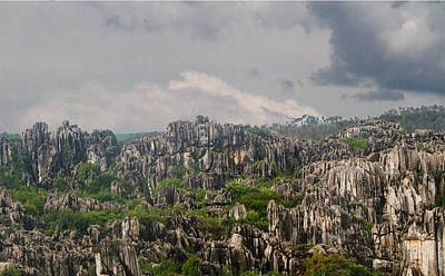 Photograph - Stone Forest 2 by Robert Hebert