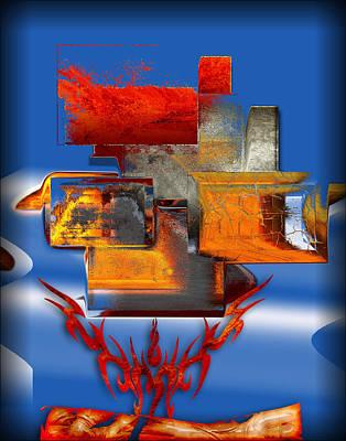 Digital Art - Stone Free by Michael Damiani