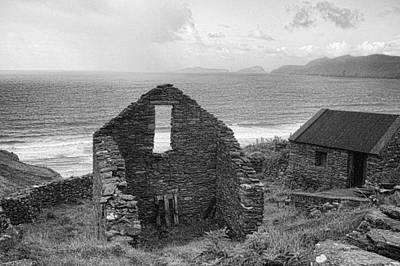 Ireland Photograph - Stone House by Hugh Smith