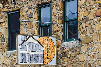 Photograph - Stone House Pizza by Carolyn Marshall