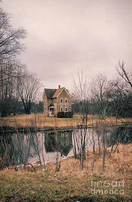 Photograph - Stone House Reflected  by Jill Battaglia