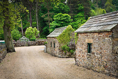 Country Cottage Photograph - Stone Huts by Tom Gowanlock