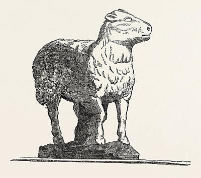 Stone Lamb, From Lambs Conduit Art Print by English School