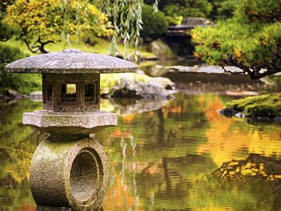 Photograph - Japenese Garden by Kyle Wasielewski
