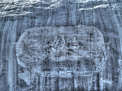 Photograph - Stone Mountain - 1 by Charles Hite