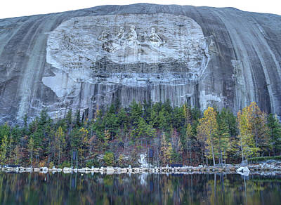 Photograph - Stone Mountain - 3 by Charles Hite