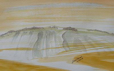 Painting - Stone Mountain Doodle by Joel Deutsch