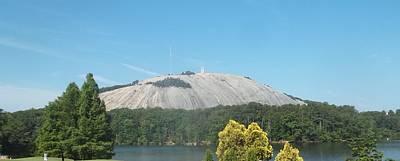 Stone Mountain I Art Print