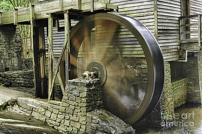 Photograph - Stone Mountain Mill by Bob McGill