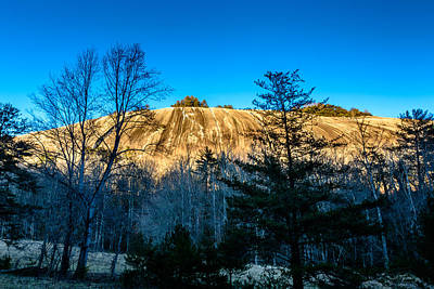 Photograph - Stone Mountain by Randy Scherkenbach