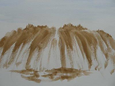 Painting - Stone Mountain Sketch by Joel Deutsch