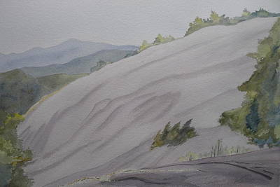 Painting - Stone Mountain Summit by Joel Deutsch
