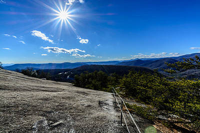 Photograph - Stone Mountain Trail by Randy Scherkenbach