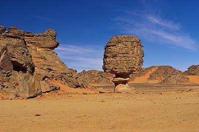 Sahara Photograph - Stone Mushroom by Ivan Slosar