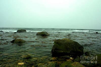 Stone Ocean Art Print