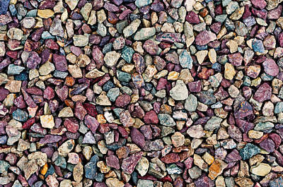 Photograph - Stone Pebbles  by Ulrich Schade