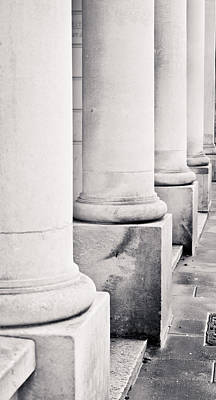 Stone Pillars Art Print