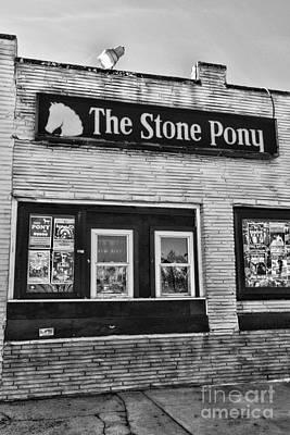 Stone Pony 1 Art Print by Paul Ward