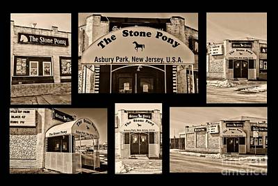 Bruce Springsteen Photograph - Stone Pony Montage by Paul Ward