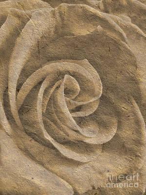 Stone Rose Art Print